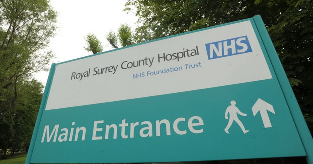 Royal-Surrey-County-Hospital-sign