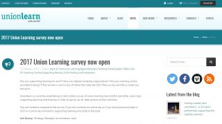union learn survey