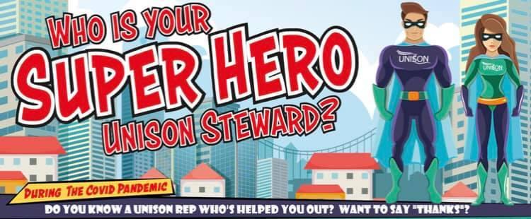 superhero campaign logo