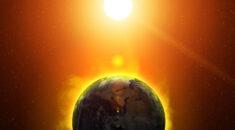 Image of globe heating
